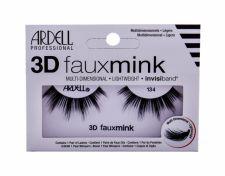 Ardell 3D Faux Mink, 134, dirbtinės blakstienos moterims, 1pc, (Black)