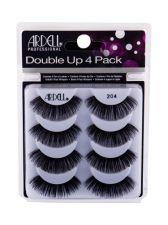 Ardell Double Up, 204, dirbtinės blakstienos moterims, 4pc, (Black)