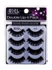 Ardell Double Up, 203, dirbtinės blakstienos moterims, 4pc, (Black)