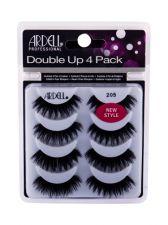Ardell Double Up, 205, dirbtinės blakstienos moterims, 4pc, (Black)