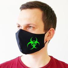 """Veido kaukė """"Biohazard"""""""