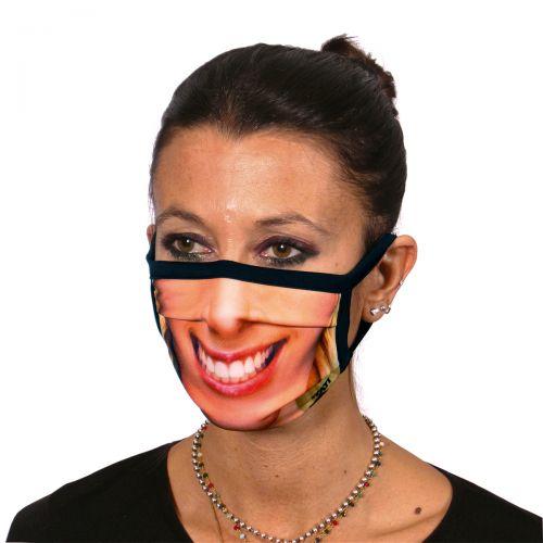 """Veido kaukė """"Moteriška šypsena"""""""