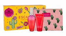ESCADA Flor del Sol, rinkinys tualetinis vanduo moterims, (EDT 50 ml + kūno losjonas 50 ml + kosmetika krepšys)