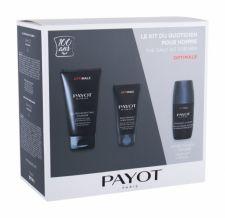 PAYOT Homme Optimale, rinkinys prausiamoji želė vyrams, (Cleansing veido želė 150 ml + Facial Balm 50 ml + dezodorantas 75 ml + kosmetika krepšys)