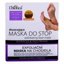 L´Biotica Foot Mask, Exfoliating, Foot kremas moterims, 1pc