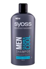 Syoss Professional Performance Men, Clean & Cool, šampūnas vyrams, 500ml