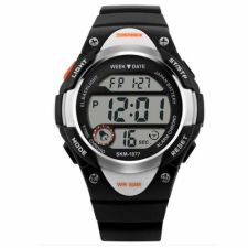 Vaikiškas, Moteriškas laikrodis SKMEI AD1077 Kids Black