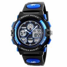 Vaikiškas, Moteriškas laikrodis SKMEI AD1163BK Blue