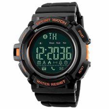 Vyriškas laikrodis SKMEI DG1245 BL Orange Bluetooth sąsaja