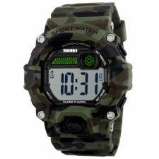 Vyriškas laikrodis SKMEI  1162 CMGN-EN  Camouflage Green English