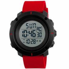 Vyriškas, Moteriškas laikrodis SKMEI  1212  BKRD  Red Belt Small Size