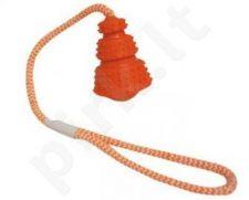 Kaučiukinis BOUNCE žaislas šuniui su virvele 9x51 cm