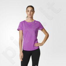 Marškinėliai bėgimui  Adidas Sequencials Climalite Run Tee W AX7540