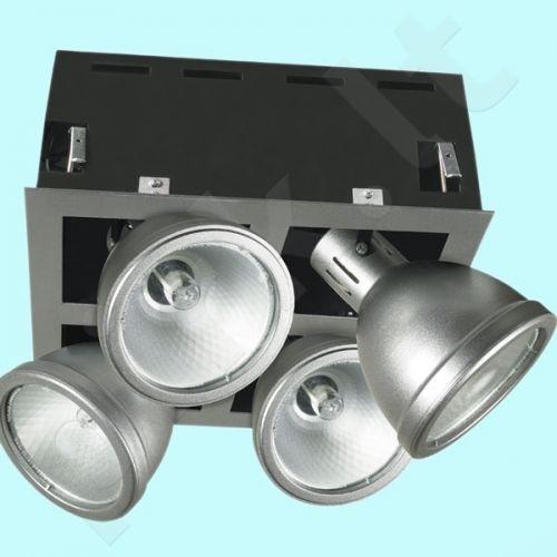 Downlight tipo šviestuvas MTH-4150-GR ESPERO