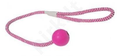 Kaučiukinis PALLA žaislas šuniui su virvele 4x51 cm
