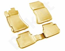 Guminiai kilimėliai 3D SUBARU Forester 2008-2013, 4 pcs. /L59002B /beige