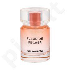 Karl Lagerfeld Les Parfums Matieres, Fleur De Pecher, kvapusis vanduo moterims, 50ml