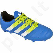 Futbolo bateliai Adidas  ACE 16.3 FG/AG Jr Leather AF5158