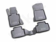 Guminiai kilimėliai 3D BMW X3 2006-2010, 4 pcs. /L04017