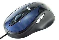 Pelė MODECOM Optinė MC-910 Mėlynai juoda