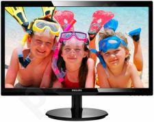 Monitorius Philips 246V5LSB 24' LED FHD, DVI, Juodas
