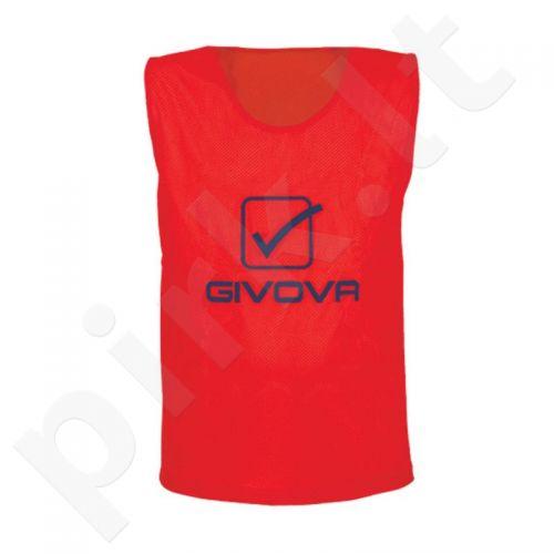 Skiriamieji marškinėliai Givova raudonas