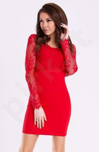 Emamoda suknelė - raudona 12002-4