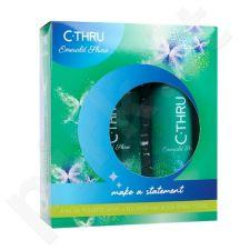 C-THRU Emerald Shine rinkinys moterims, (EDT 30 ml + dezodorantas 150 ml)