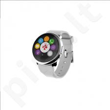 MyKronoz Smartwatch ZeRound (Silver