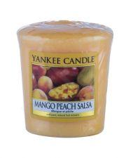 Yankee Candle Mango Peach Salsa, aromatizuota žvakė moterims ir vyrams, 49g