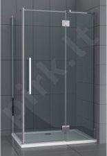Dušo kabina C12090HY grey be pado (tik stiklai)