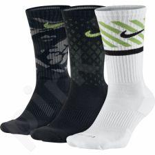Kojinės Nike Dri-Fit Triple 3 poros SX4966-900