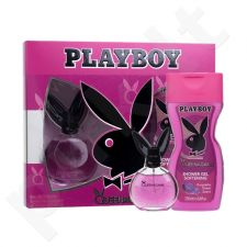 Playboy Queen of the Game rinkinys moterims, (EDT 40 ml + dušo želė 250 ml)