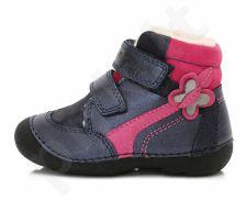 D.D. step mėlyni batai su pašiltinimu 19-24 d. 015157b