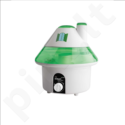 Scarlett SC-AH986M06R Humidifier, Water tank 4.5L, Humidification area 35 m², White/green