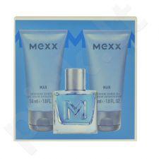 Mexx Man rinkinys vyrams, (EDT 50ml + 2x50ml dušo želė)