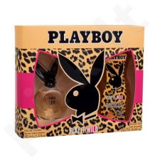Playboy Play It Wild rinkinys moterims, (EDT 40 ml + dušo želė 250 ml)