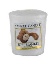 Yankee Candle Soft Blanket, aromatizuota žvakė moterims ir vyrams, 49g