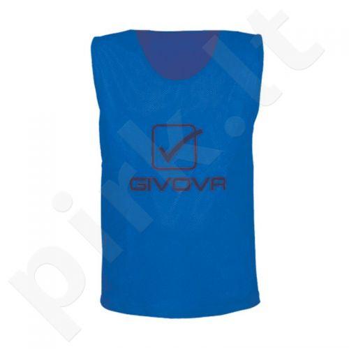 Skiriamieji marškinėliai Givova mėlyna