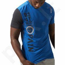 Marškinėliai treniruotėms Reebok Breeze Short Sleeve M AJ0835
