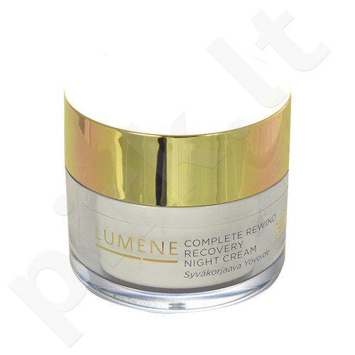 Lumene Complete Rewind Recovery naktinis kremas, kosmetika moterims, 50ml