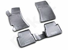Guminiai kilimėliai 3D SUBARU Impreza 2007-2011, 4 pcs. /L59004G /gray