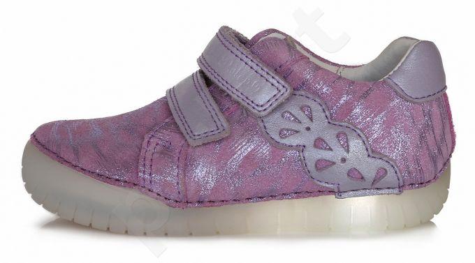 Auliniai D.D. step violetiniai led batai 25-30 d. 0503am