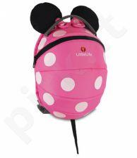 Vaikiška kuprinė Pink Minnie Mouse