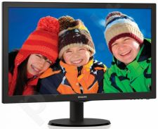 Monitorius Philips V-line 223V5LSB2 21.5'' LED FHD, Smart Control Lite, Juodas
