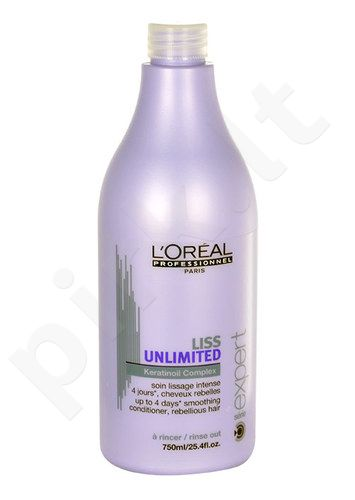 L´Oreal Paris Expert Liss Unlimited kondicionierius, kosmetika moterims, 750ml