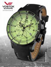 Vyriškas laikrodis Vostok Europe Anchar Chrono 6S30-5104243