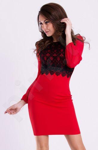Emamoda suknelė - raudona 12003-1