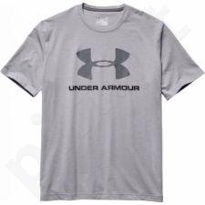 Marškinėliai treniruotėms Under Armour Sportstyle Logo T-Shirt M 1257615-025