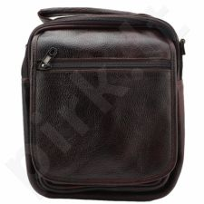 Vyriška odinė rankinė VR612R, Pasirinkite: Mažesnė: 16,5 cm / 21 cm / 7cm | BR612SML